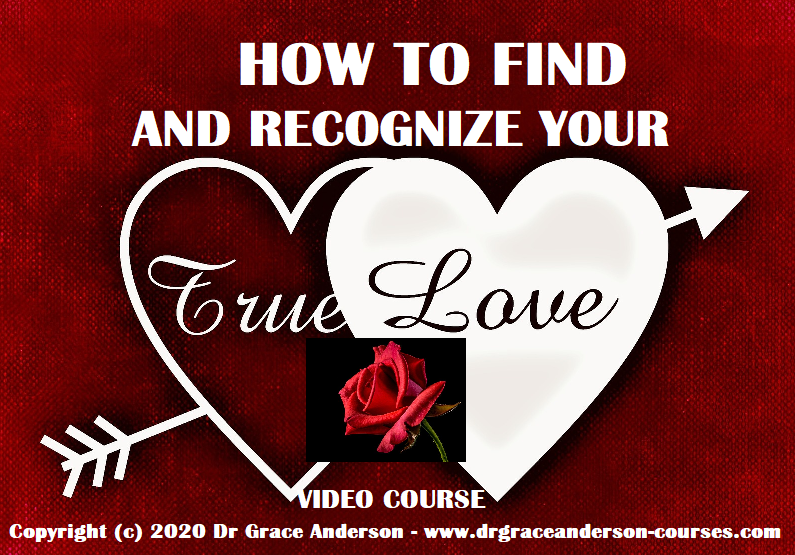 How To Find And Recognize Your True Love.